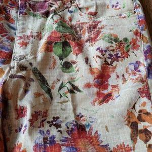 Zara Jeans - Zara Basic Floral Print Jeans